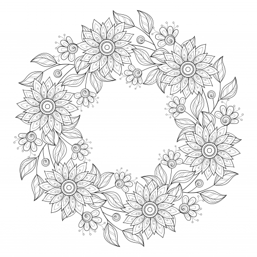 advanced coloring pages flowers coloring pages free printable advanced coloring pages for pages coloring flowers advanced
