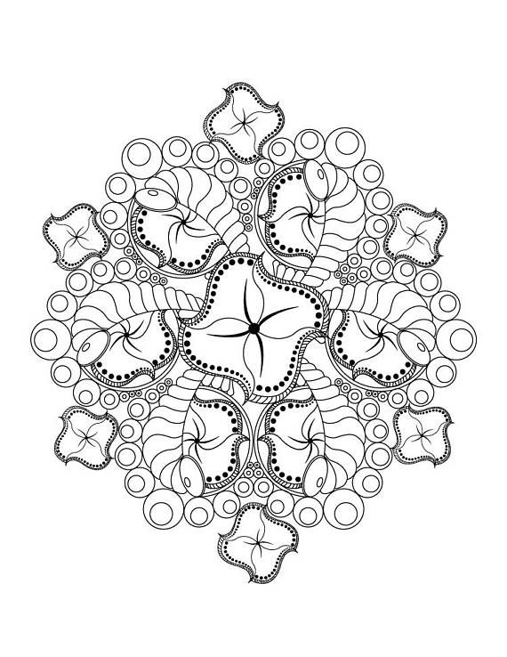 advanced coloring pages flowers flowers mandala coloring pages colouring adult detailed pages advanced flowers coloring