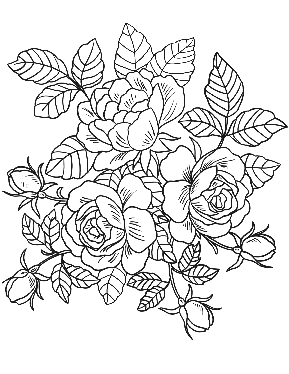 advanced coloring pages flowers free printable flower coloring pages for kids best pages advanced flowers coloring