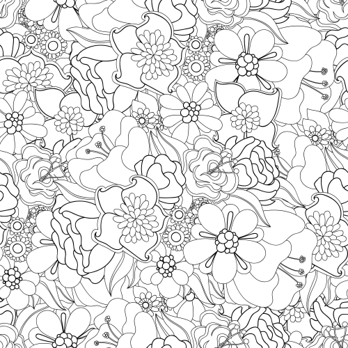 advanced coloring pages flowers realistic flowers coloring pages Рисунки цветов Рисунки pages advanced coloring flowers