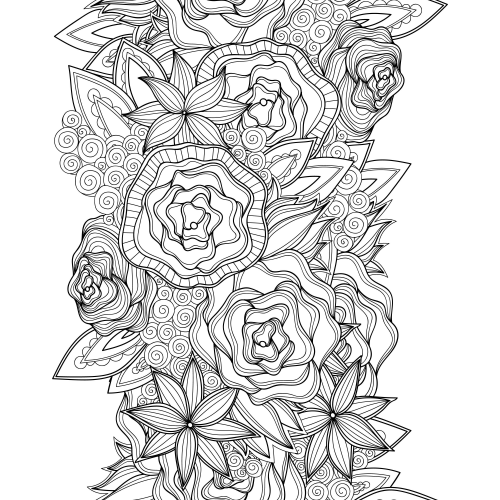 advanced flower coloring pages advanced coloring pages for adults vas flower flower flower advanced pages coloring