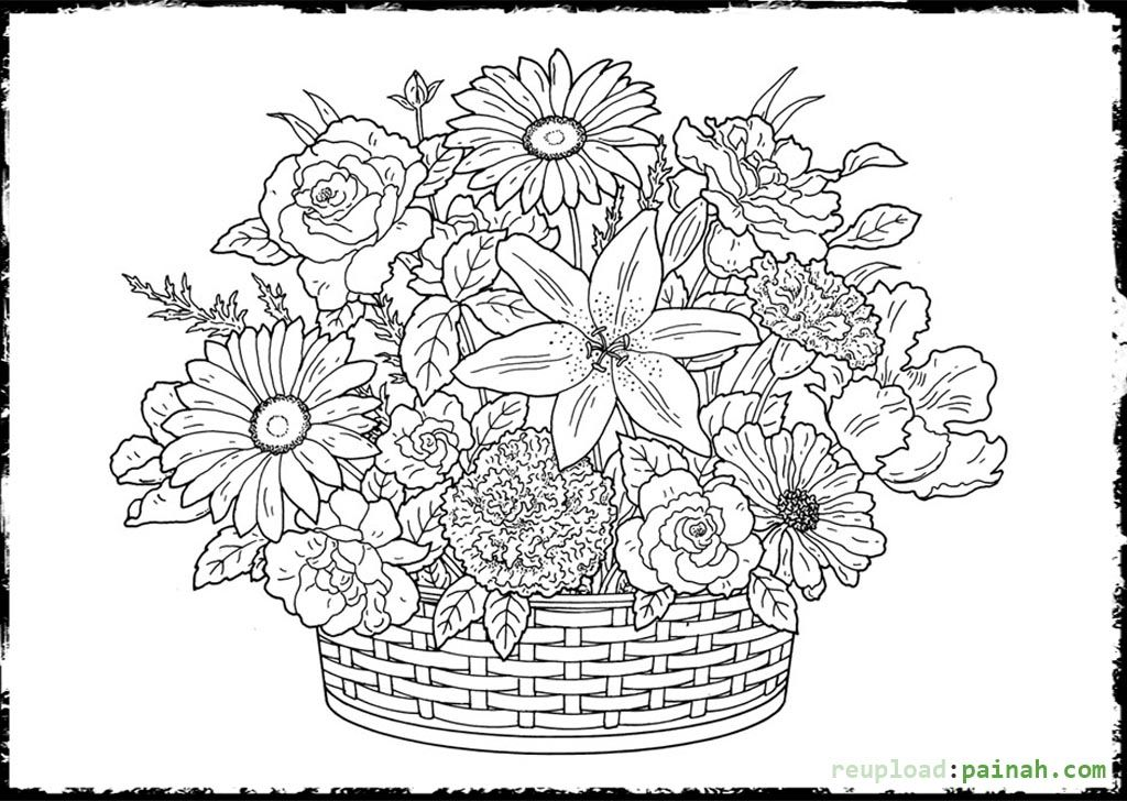advanced flower coloring pages advanced flower coloring pages 5 kidspressmagazinecom pages flower advanced coloring