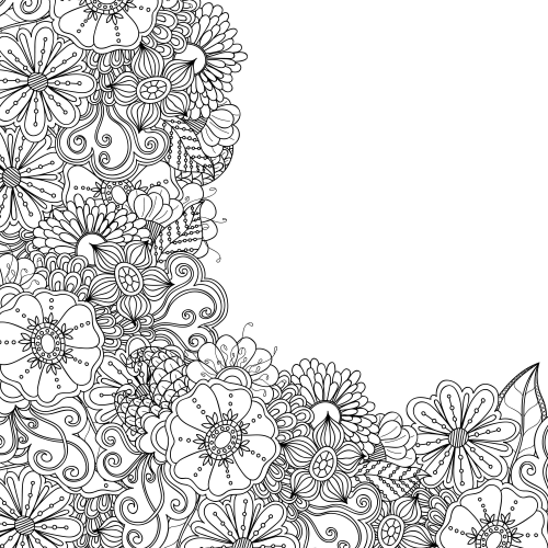 advanced flower coloring pages advanced flower coloring pages 6 kidspressmagazinecom pages coloring advanced flower