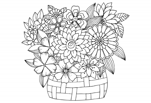 advanced flower coloring pages advanced flower coloring pages 7 kidspressmagazinecom flower coloring advanced pages