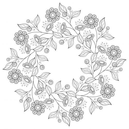 advanced flower coloring pages advanced flower coloring pages at getcoloringscom free flower pages advanced coloring