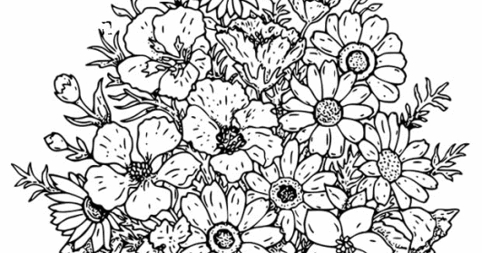 advanced flower coloring pages advanced flower coloring pages pages coloring advanced flower