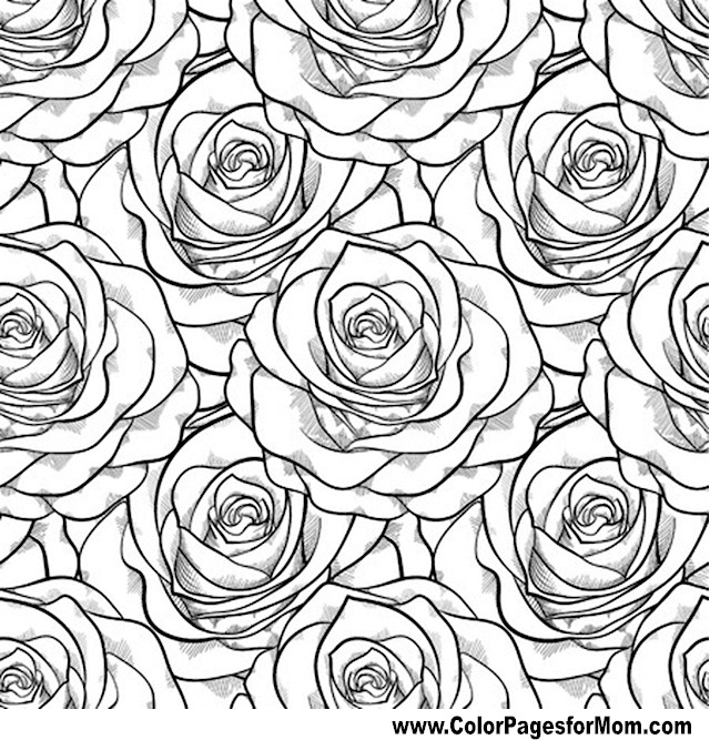 advanced flower coloring pages color your own great flower paintings coloring book dover flower coloring pages advanced