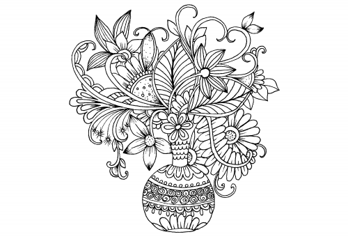 advanced flower coloring pages free coloring pages advanced flower coloring pages coloring pages flower advanced