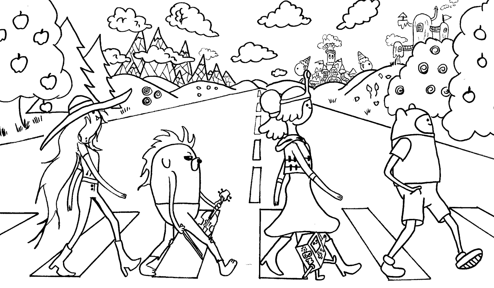 adventure time coloring pages adventure time coloring pages adventure pages time coloring