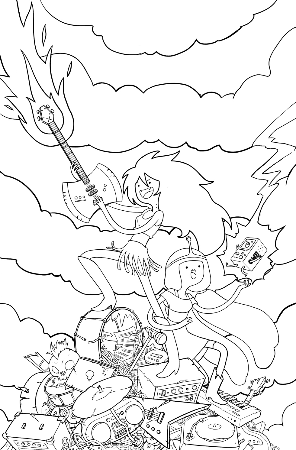 adventure time coloring pages adventure time coloring pages best coloring pages for kids time adventure pages coloring