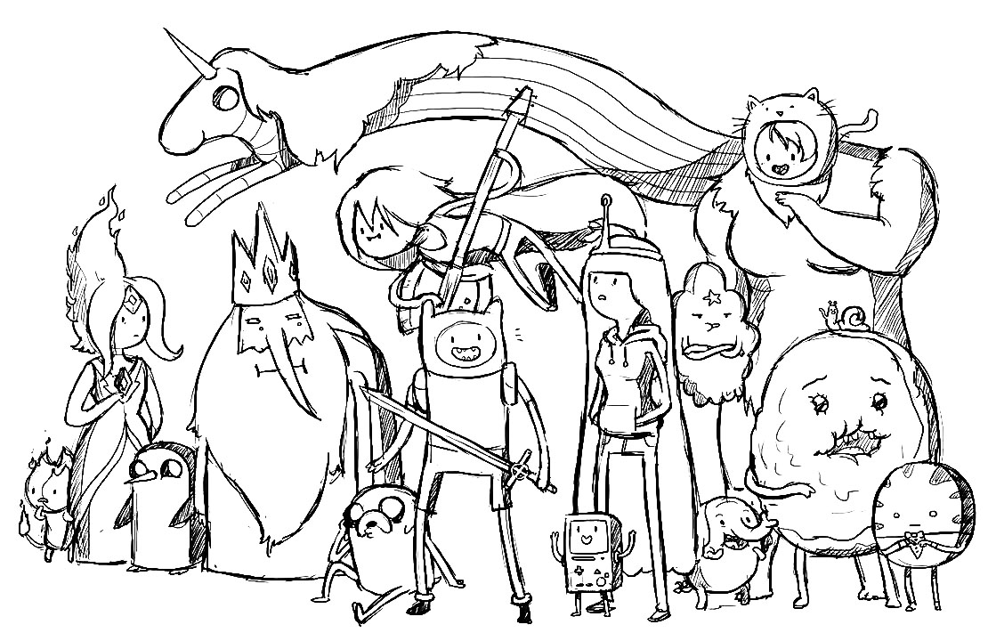 adventure time coloring pages adventure time coloring pages coloring pages adventure coloring time pages