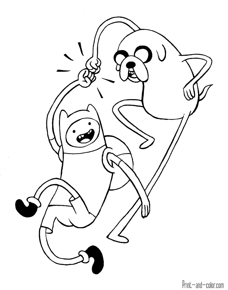 adventure time coloring pages adventure time coloring pages print and colorcom adventure coloring pages time