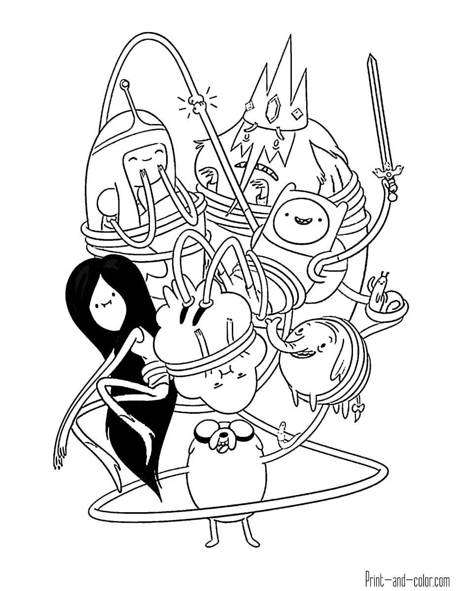 adventure time coloring pages adventure time coloring pages print and colorcom coloring adventure time pages