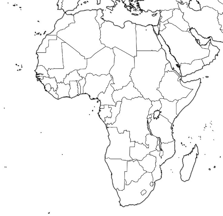 africa coloring map blank map of africa of the continent filling in as many coloring africa map
