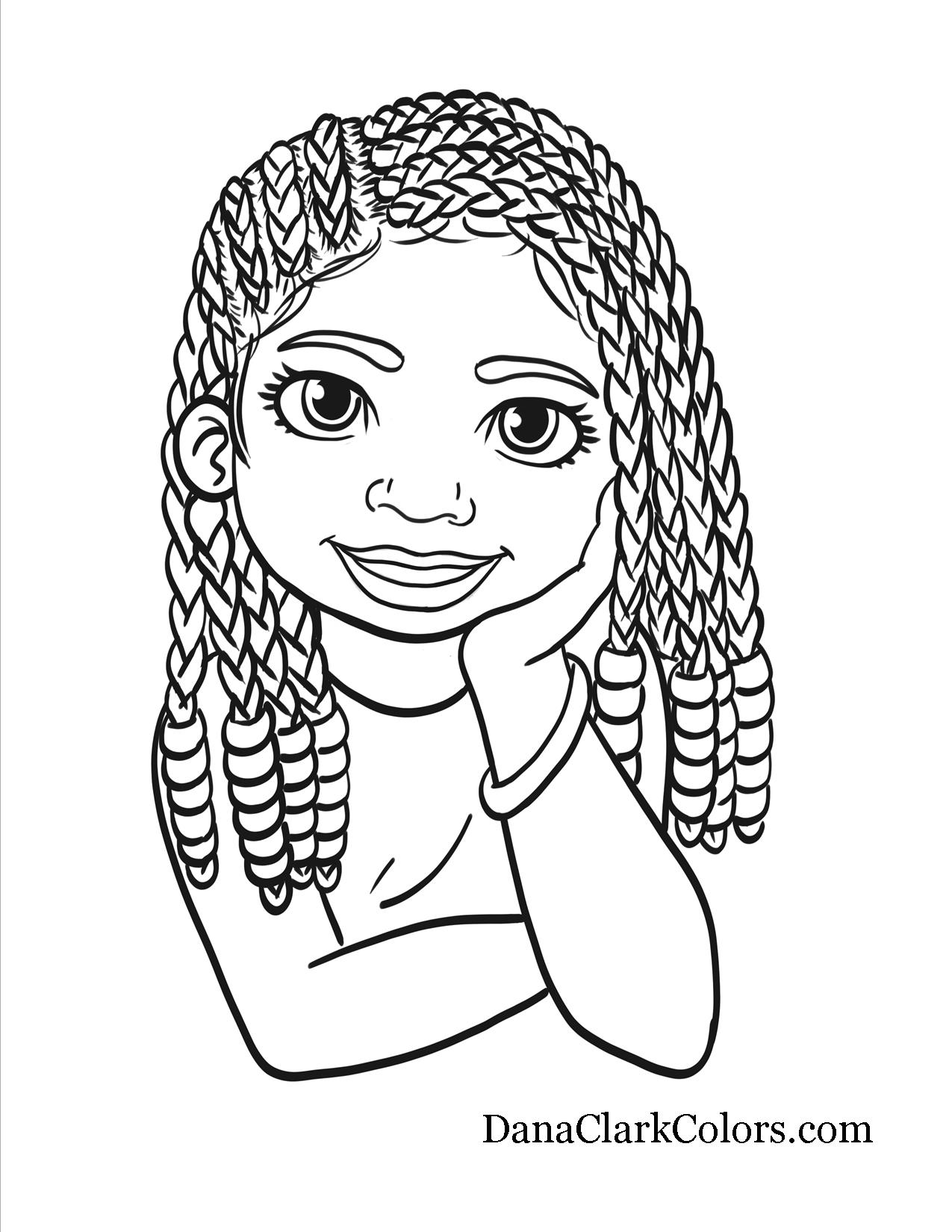african american coloring pages shaneze looks romantic with her large afro tail african african pages coloring american