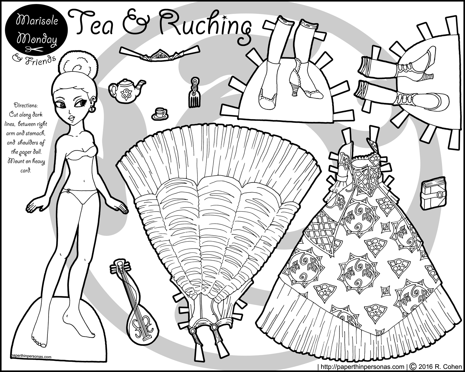 african american paper dolls printable articulated paper dollpuppet coloring page african printable african dolls american paper