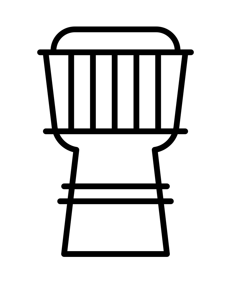african drum coloring page coloring page african drum to color online coloringcrew page african coloring drum