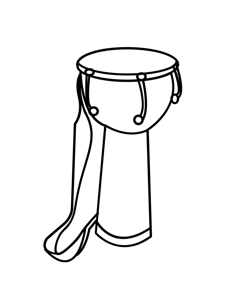 african drum coloring page djembe coloring pages free printable coloring pages for kids african coloring drum page