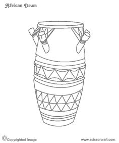 african drum coloring page drums coloring pages kidsuki african page drum coloring