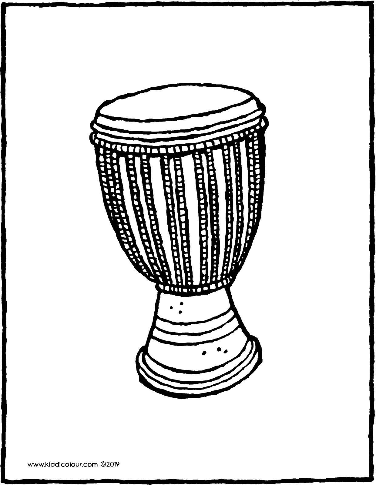 african drum coloring page musical instruments coloring pages free printable african drum page coloring