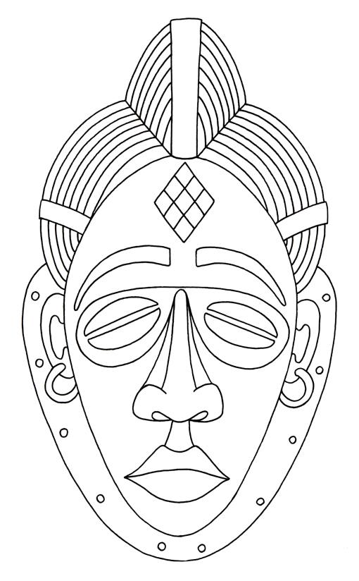 african masks coloring sheets 17 best images about african coloring pages on pinterest masks sheets coloring african