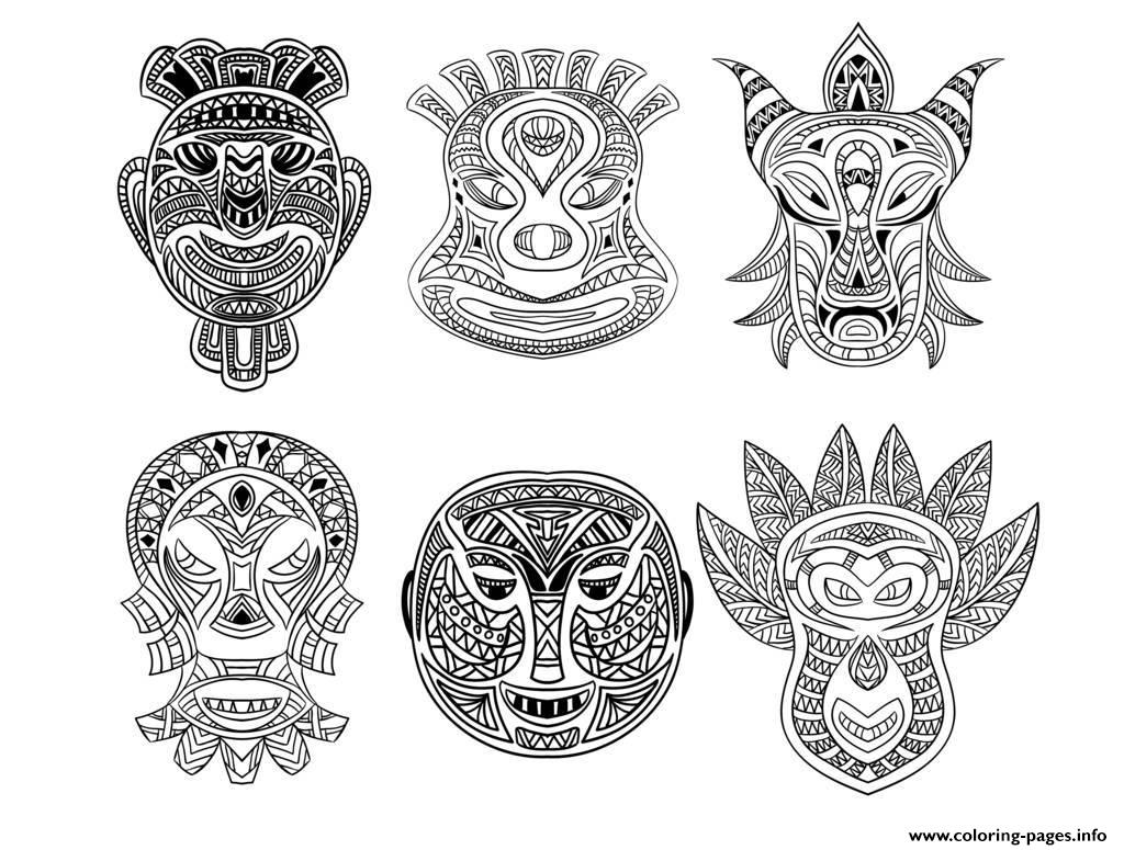 african masks coloring sheets adult 6 african masks coloring pages printable african masks coloring sheets