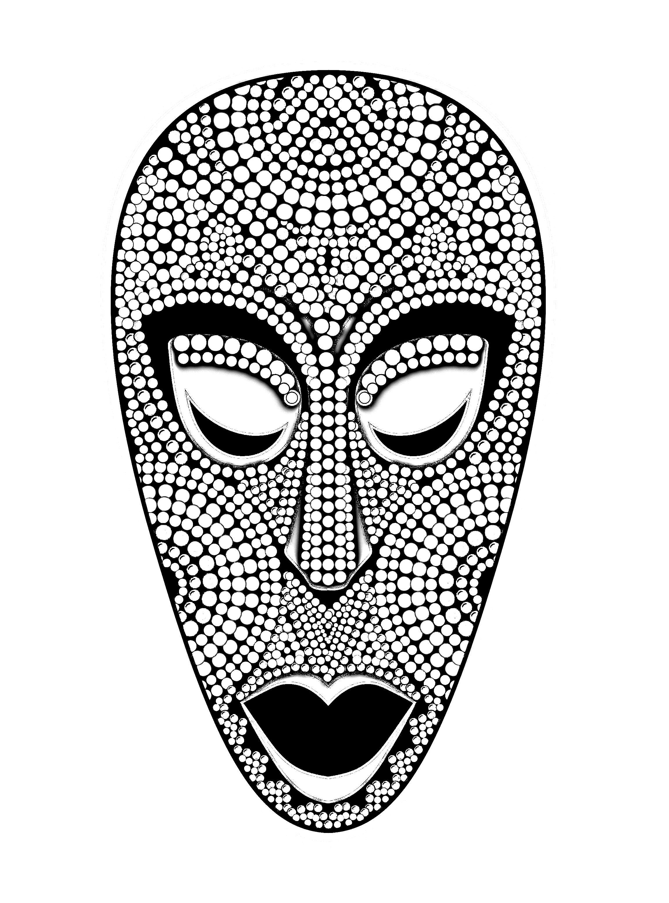 african masks coloring sheets spiderman mask coloring page at getdrawings free download masks sheets coloring african