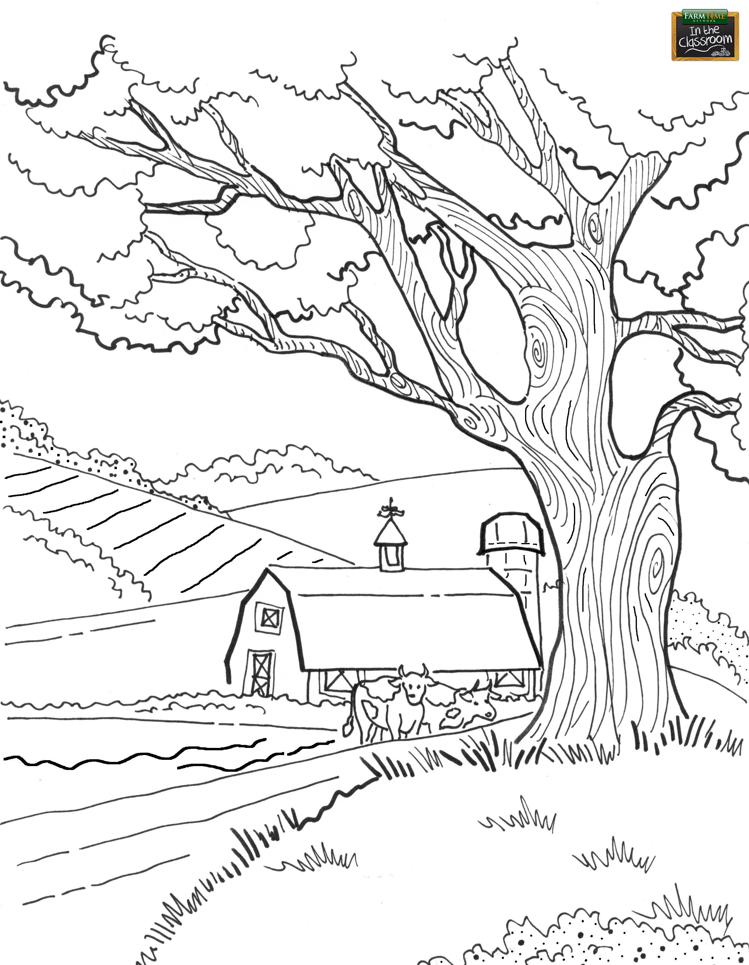 ag coloring pages coloring page of cartoon tractor stock illustration ag coloring pages
