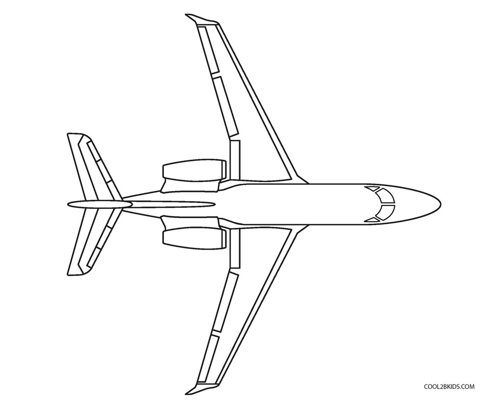 air plane coloring pages cute simple airplane line art free clip art coloring plane air pages