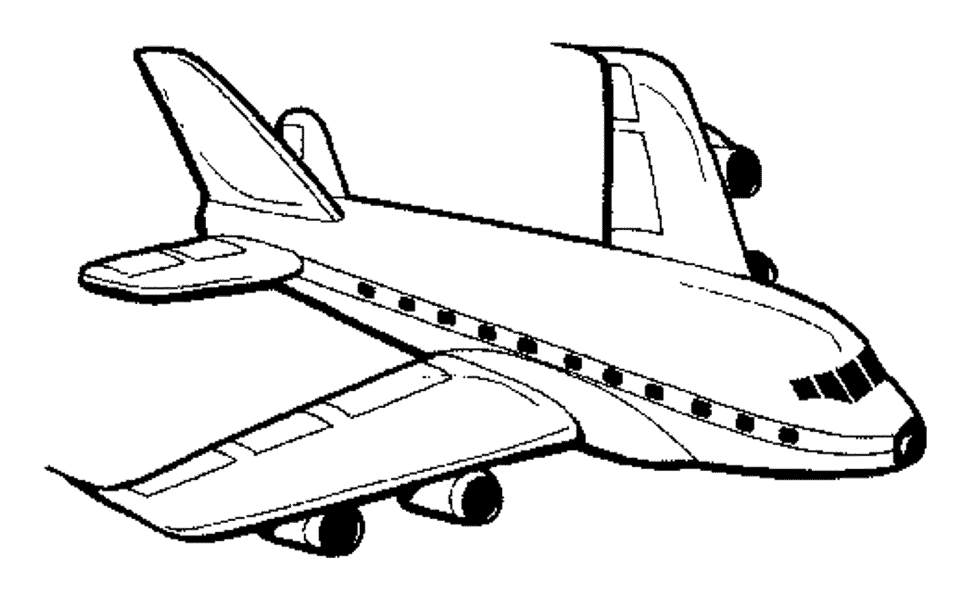 airplane pictures to colour aeroplane drawing for kids free download on clipartmag airplane pictures to colour