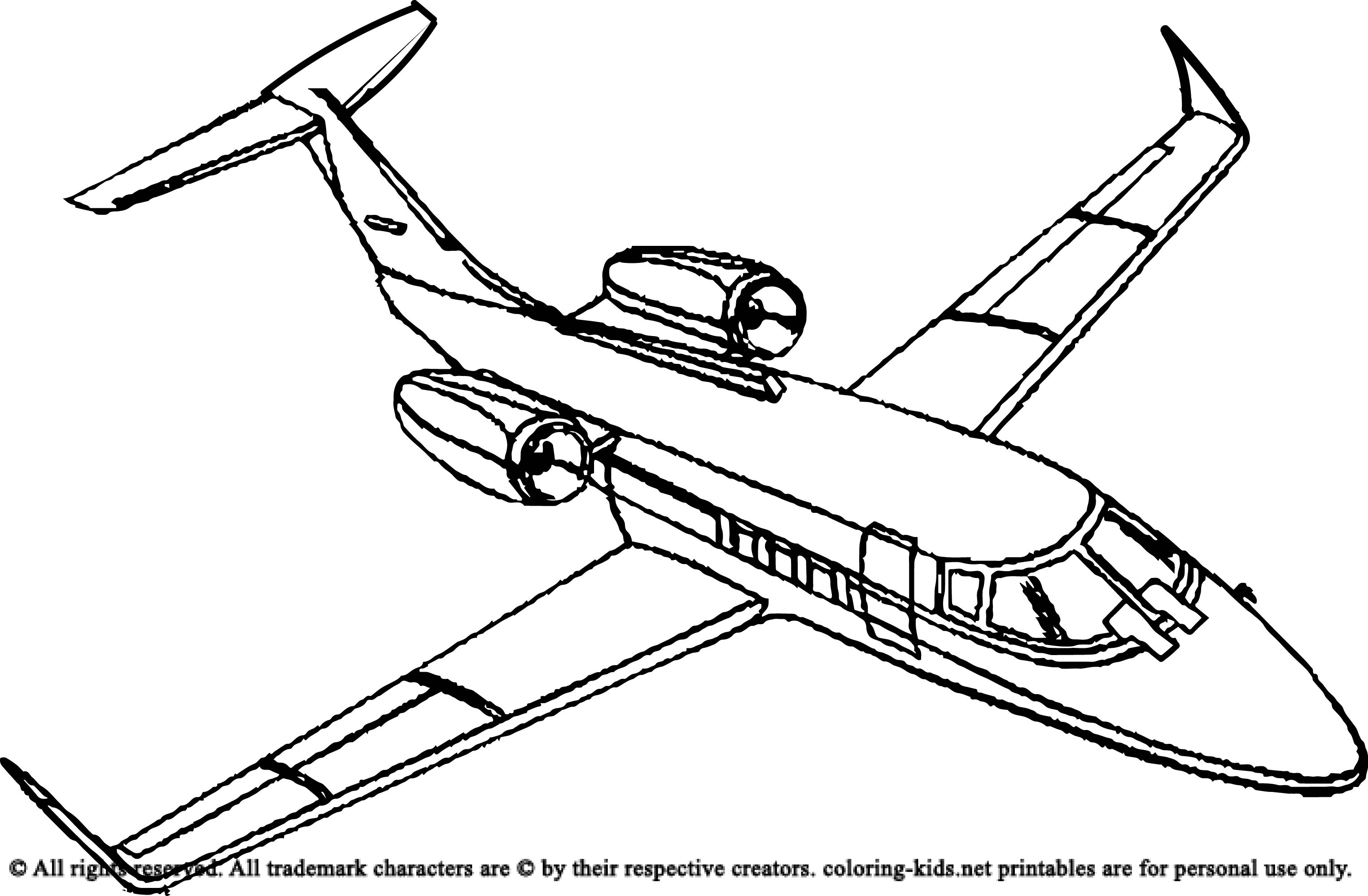 airplane pictures to colour free printable airplane coloring pages for kids cool2bkids colour to pictures airplane