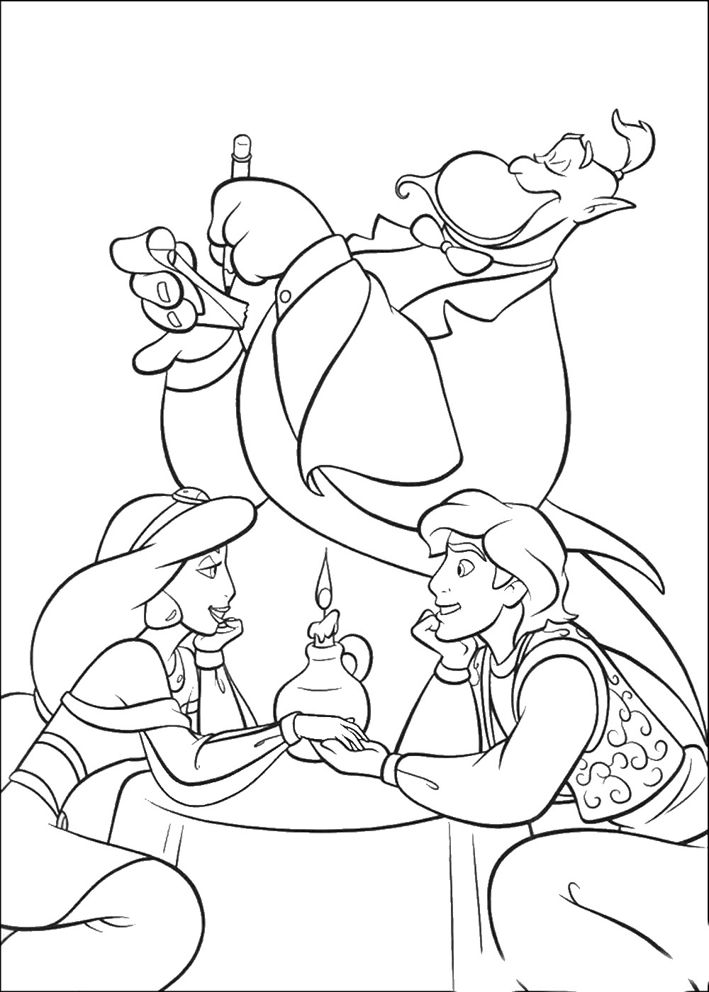 aladdin coloring page aladdin activities for kids wonder kids coloring aladdin page