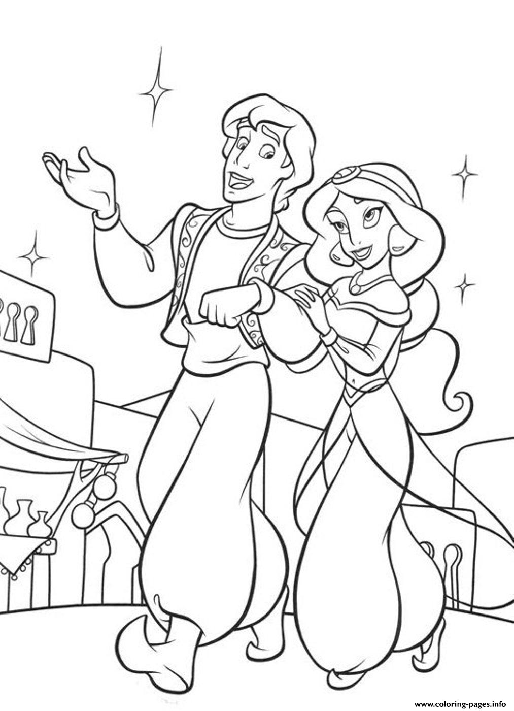 aladdin coloring page aladdin coloring pages disney coloring book coloring aladdin page