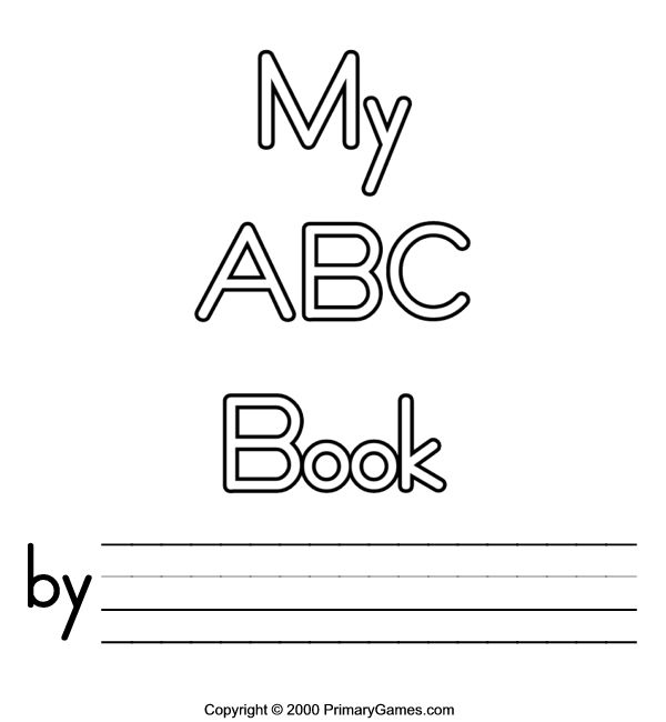 alphabet coloring book printable abc coloring pages primarygamescom free printable printable book alphabet coloring
