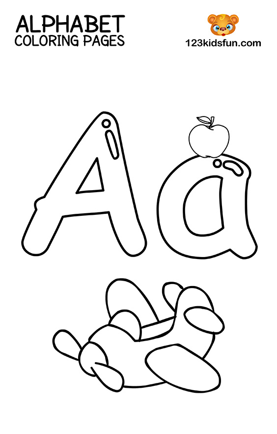 alphabet coloring book printable free printable alphabet coloring pages for kids 123 kids book coloring alphabet printable