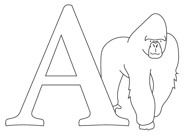alphabet coloring pages pdf printable coloring pages uppercase letters animals coloring pages alphabet pdf