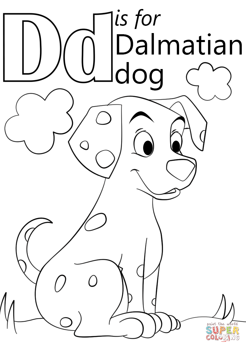 alphabet d for coloring letter d is for dinosaur coloring page free printable alphabet d coloring for