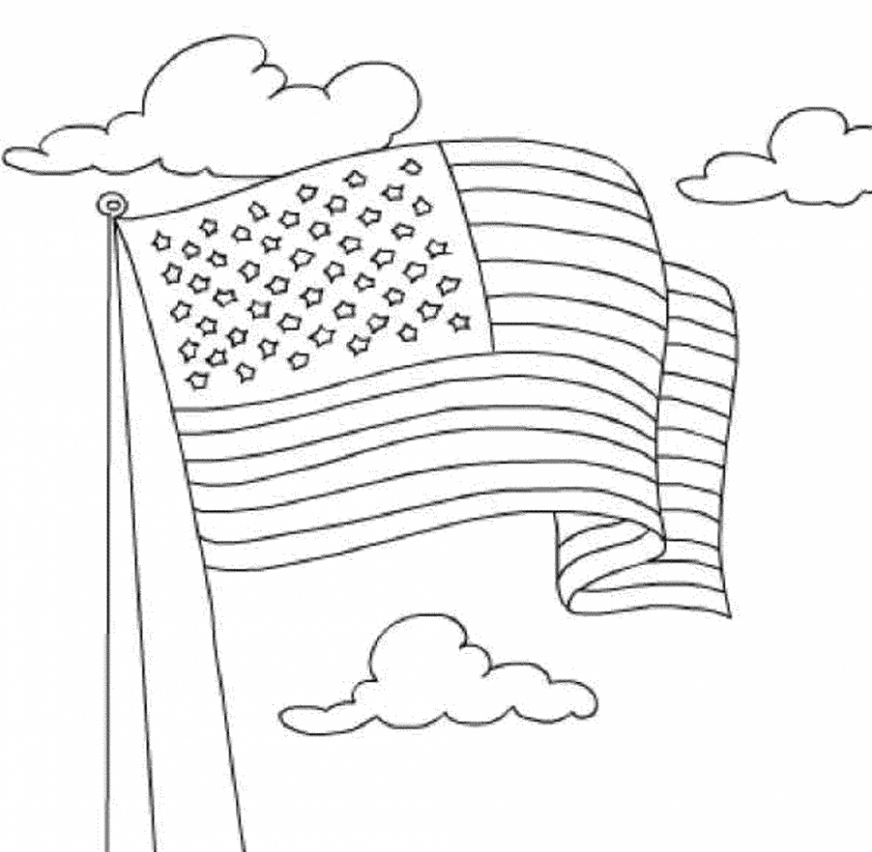 american flag to color free coloring american flags to print to color american flag