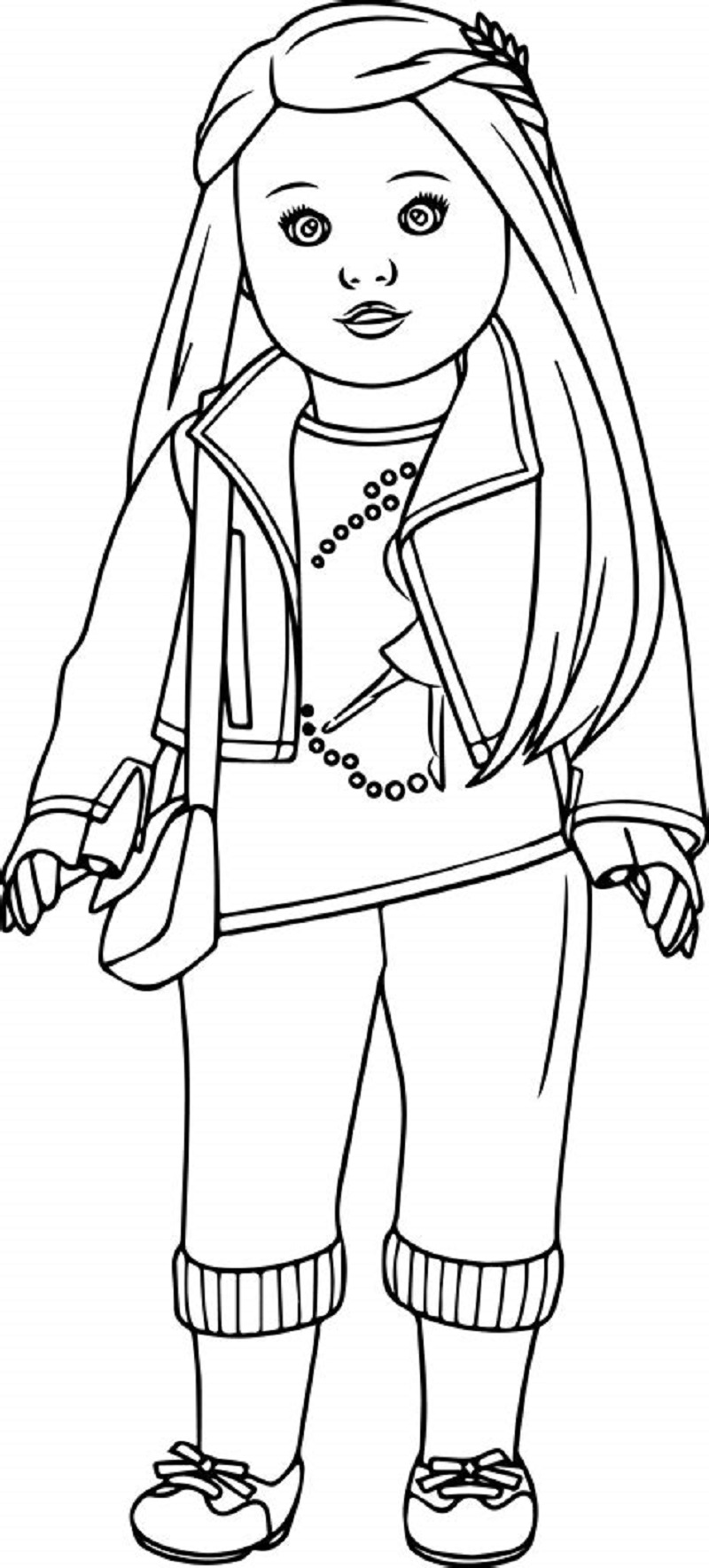 american girl doll coloring pages to print american girl coloring pages best coloring pages for kids american pages doll to print girl coloring