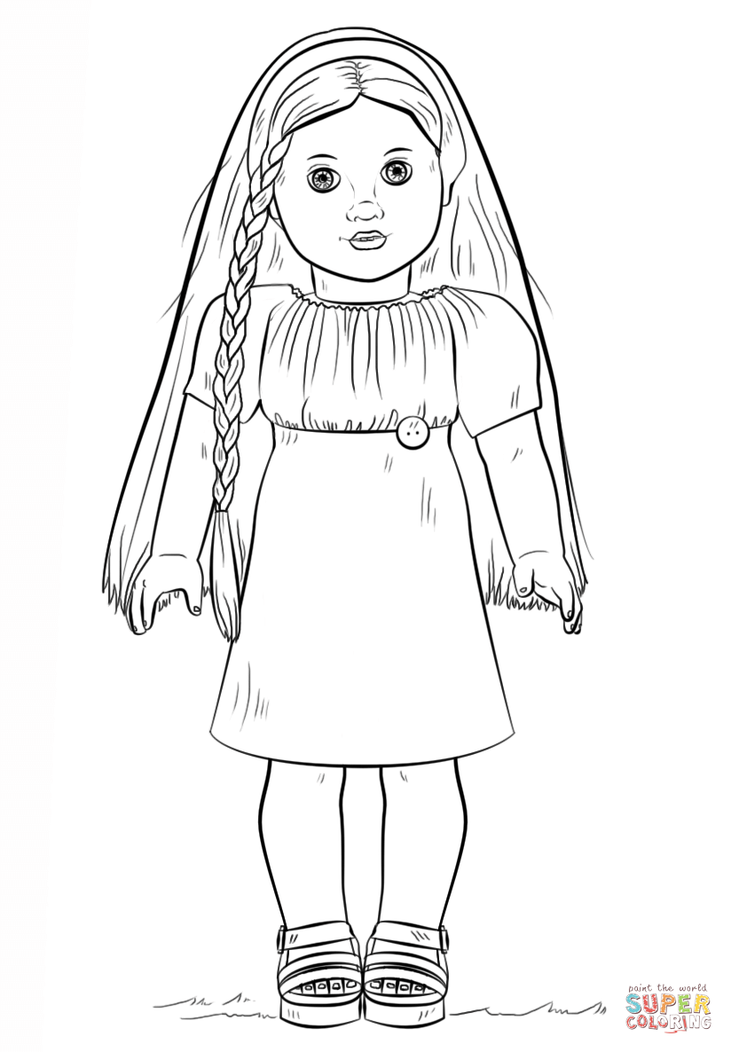 american girl doll coloring pages to print american girl coloring pages kit at getcoloringscom print pages american doll to coloring girl