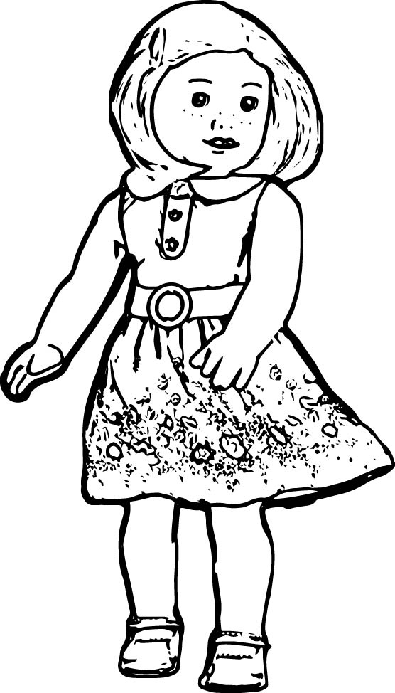 american girl doll coloring pages to print american girl doll coloring pages printable activity shelter doll girl print american to coloring pages