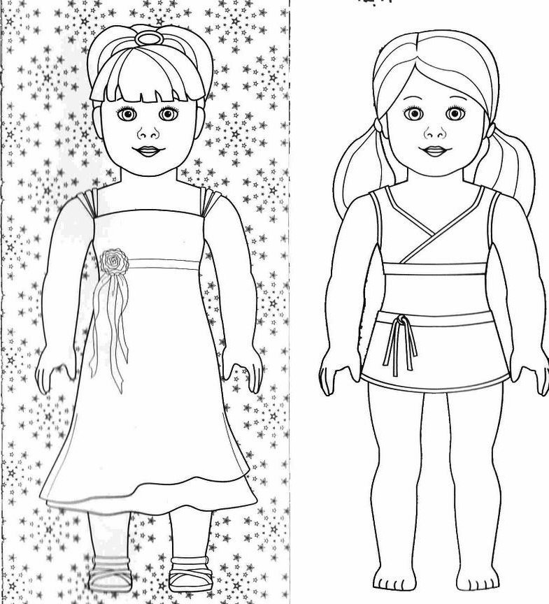 american girl doll coloring pages to print american girl doll coloring pages with images kolorowanki print american girl to coloring doll pages
