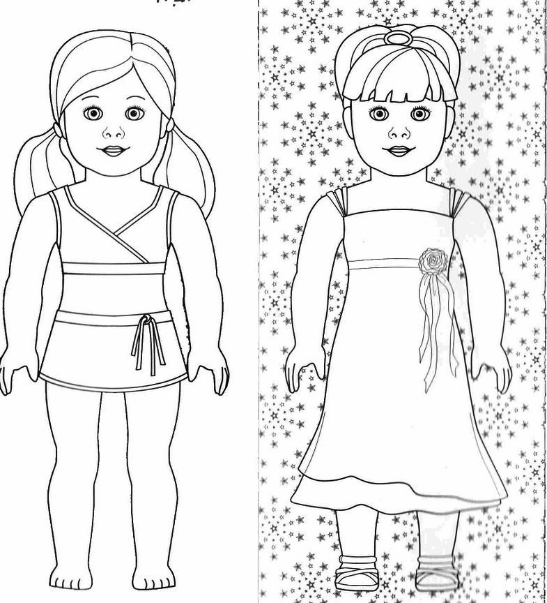 american girl doll coloring pages to print american girl doll wellie wishers coloring page doll girl print coloring pages to american