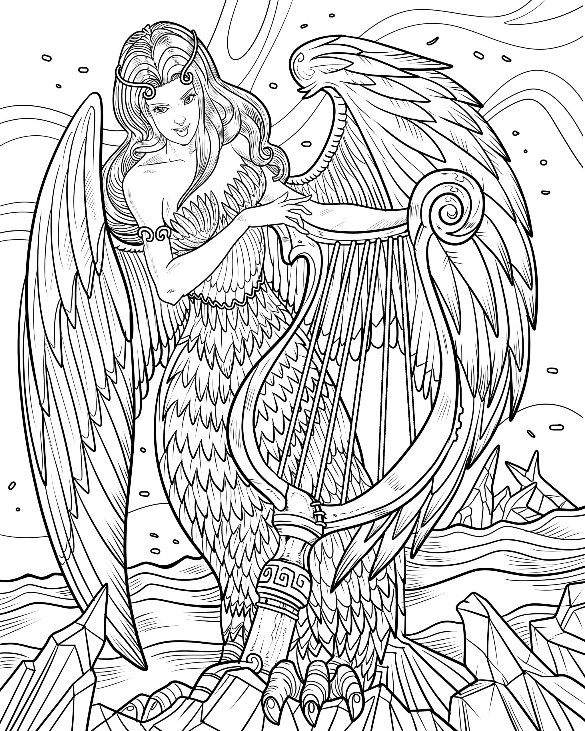 angel coloring pages for adults angel coloring pages for adults coloring home adults for pages coloring angel
