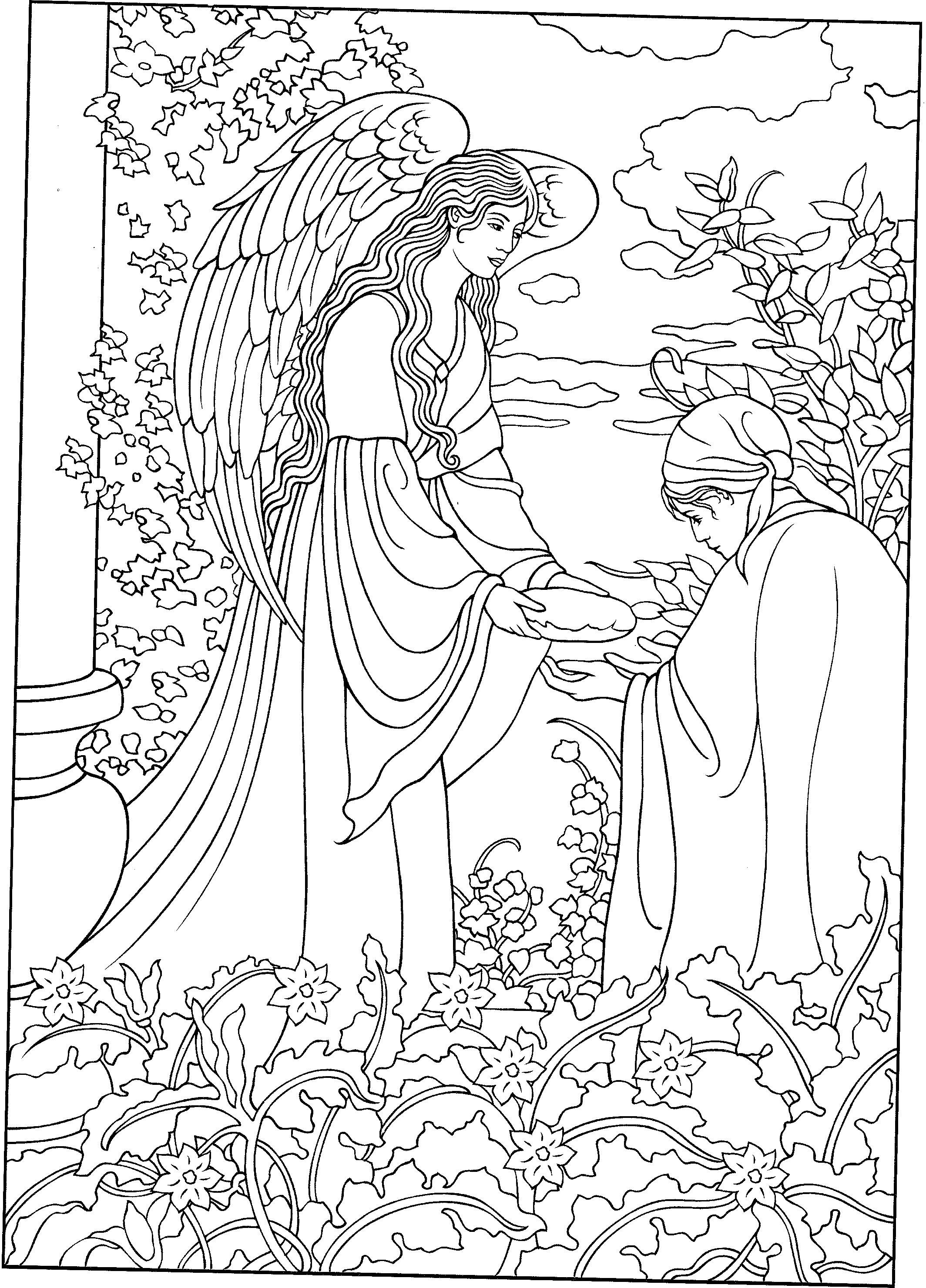 angel coloring pages for adults beautiful angel coloring page angel coloring pages coloring for adults pages angel