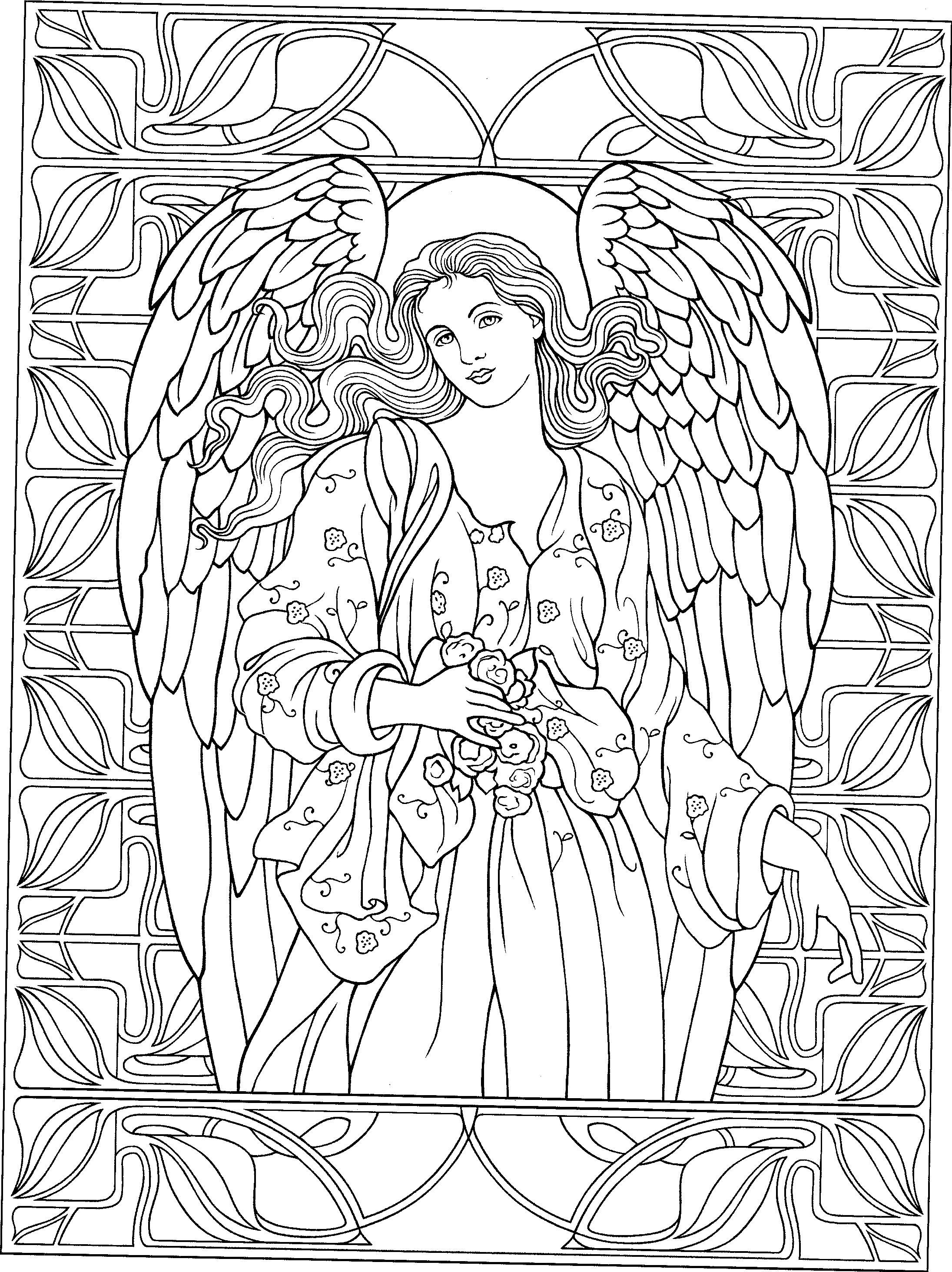angel coloring pages for adults free printable angel coloring pages for kids cool2bkids pages coloring for angel adults