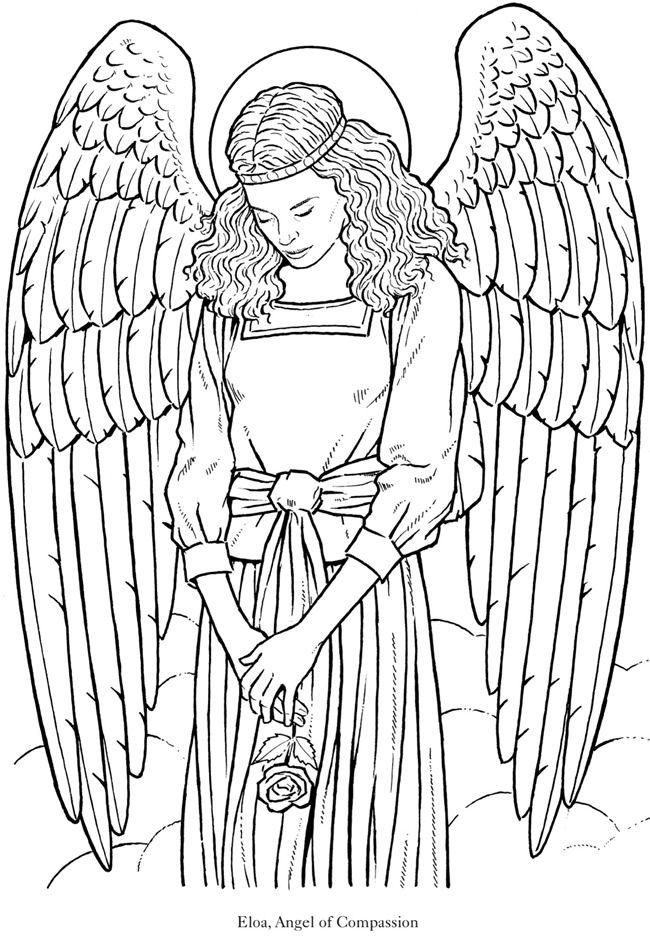 angel coloring pages for adults get this free printable angel coloring pages for adults for angel pages coloring adults