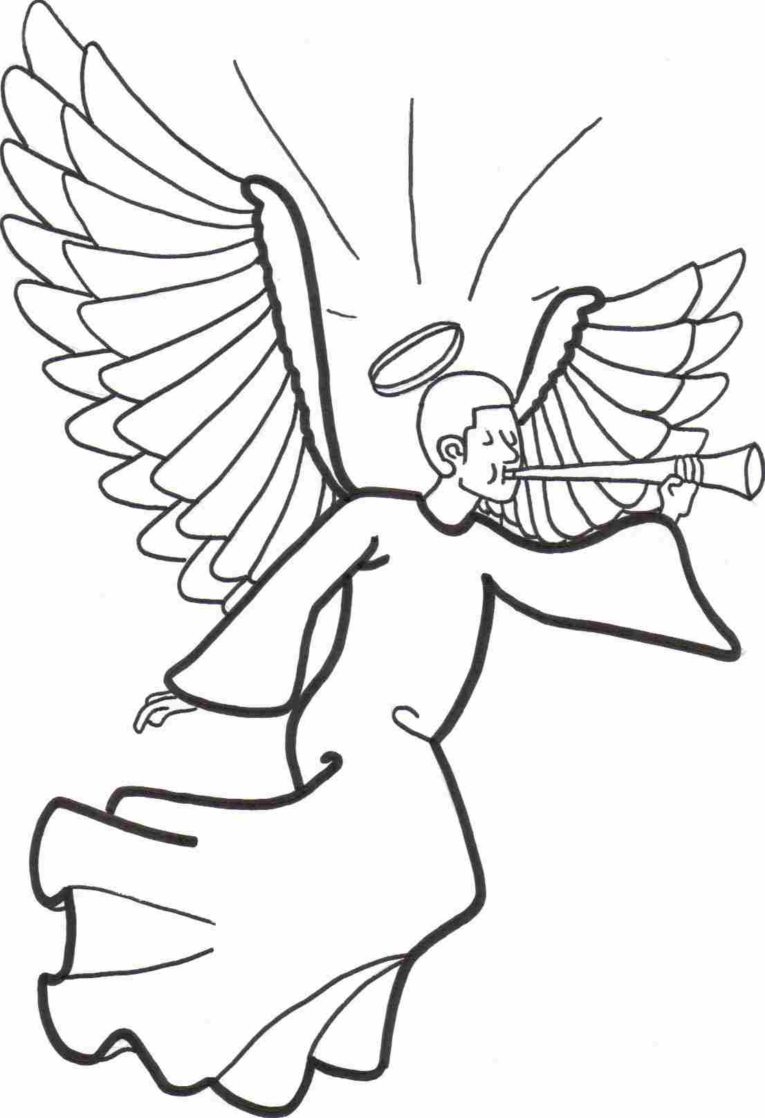angel coloring sheet free printable angel coloring pages for kids cool2bkids sheet coloring angel