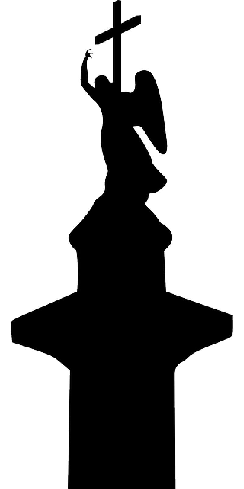 angel silhouette silhouette of angel clipart 20 free cliparts download angel silhouette