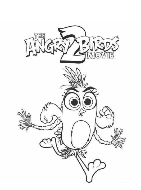 angry birds 2 coloring pages angry birds kids coloring pages free printable kids birds angry 2 coloring pages